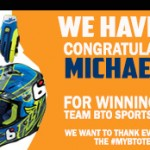 #MYBTOTEAMGEAR Contest Winner Announced