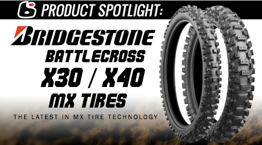 Bridgestone Battlecross X30/X40 Motocross tires | Product Spotlight