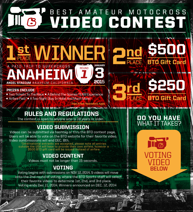Best Amateur Motocross Video Contest—Starting Now!