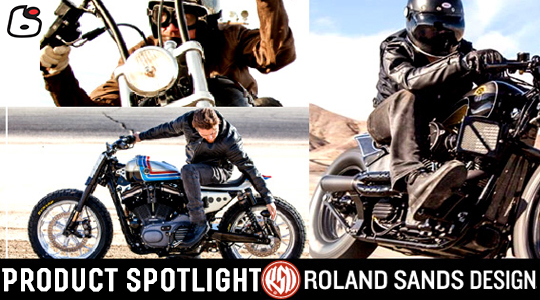 Roland Sands Design Motorcycle Leather Jackets