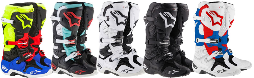 alpinestars tech 10 boots colors and more