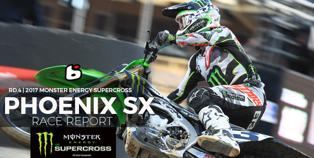 Phoenix Supercross Race Report