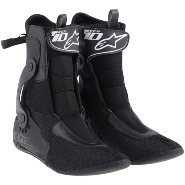 alpinestars tech 10 inner bootie black 2014 2015 2016
