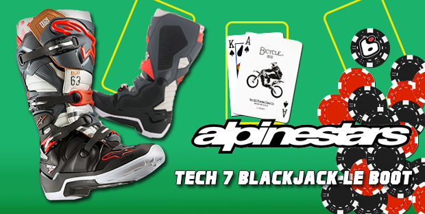 alpinestars tech 7 Blackjack limited edition boot